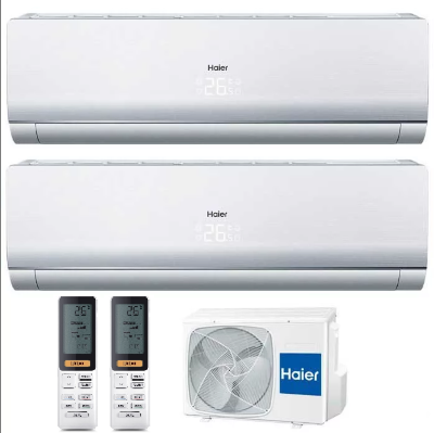 Мульти сплит-система Haier 2U14CS4ERA+ AS09NS5ERA-W 2 ШТ